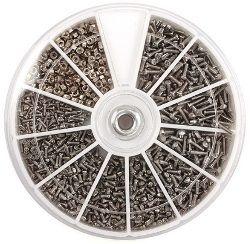 Ремонт очков Набор крепежа для ремонта очков ?2 (600 шт) Крепика дом крепежных материалов